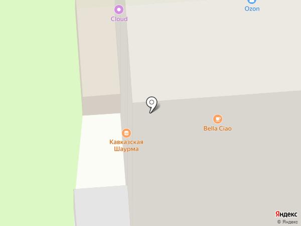 Детский на Лумумбы на карте Перми