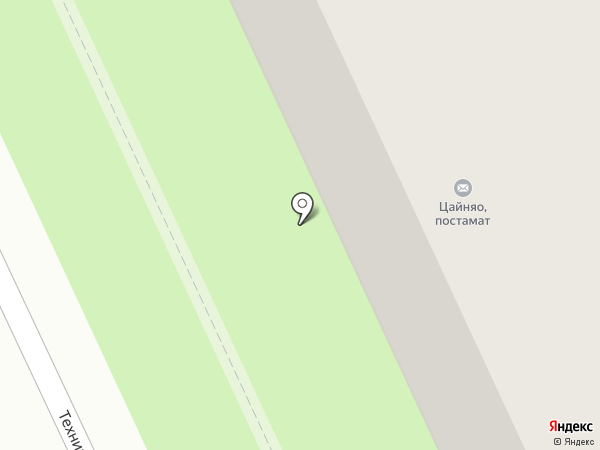 Сеть химчисток на карте Перми