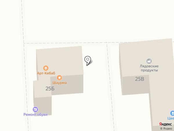 Лядовский на карте Перми