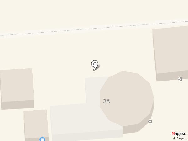 Теплый свет на карте Перми