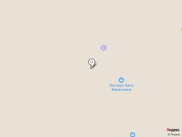 ЭКС АВТО на карте Перми