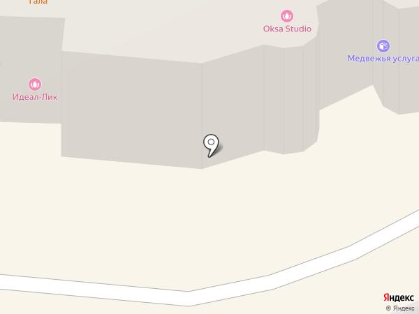 Агатик на карте Перми