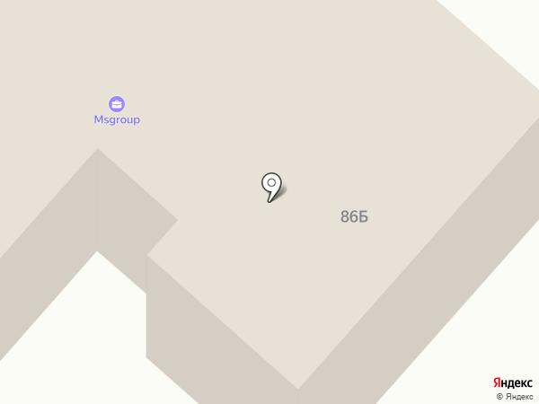 Frame на карте Перми
