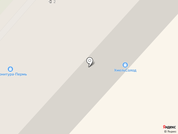 Индюшкин на карте Перми