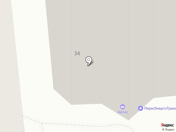 А-Трейд на карте Перми