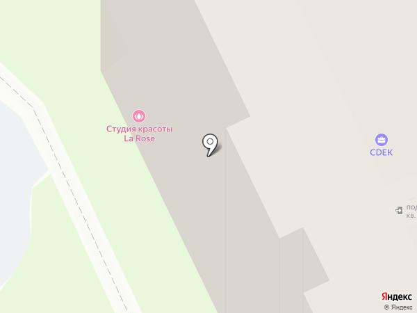 Студия красоты ЕВА на карте Перми