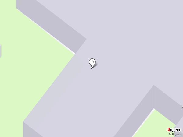 Детский сад №390 на карте Перми