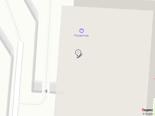 Воздушный рай на карте Перми