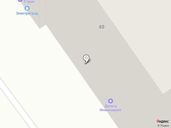 Мустанг на карте Перми