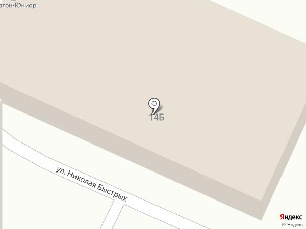 Нортон-Юниор на карте Перми