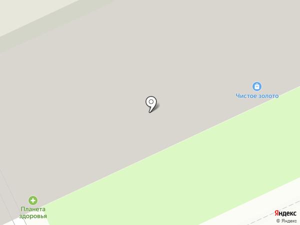 Сакура на карте Перми