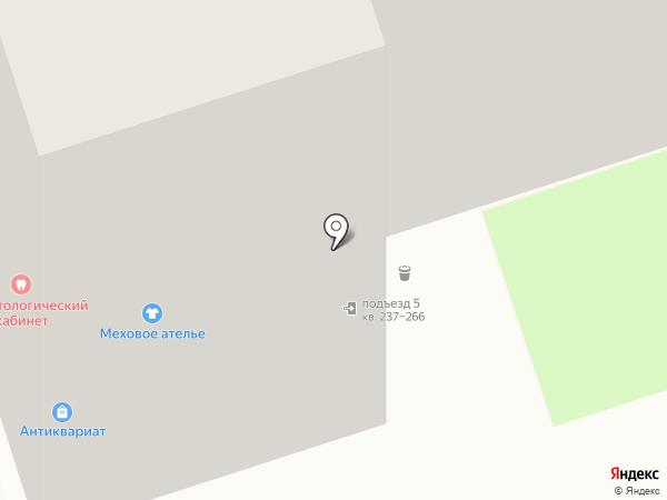 Кожа и Меха на карте Перми