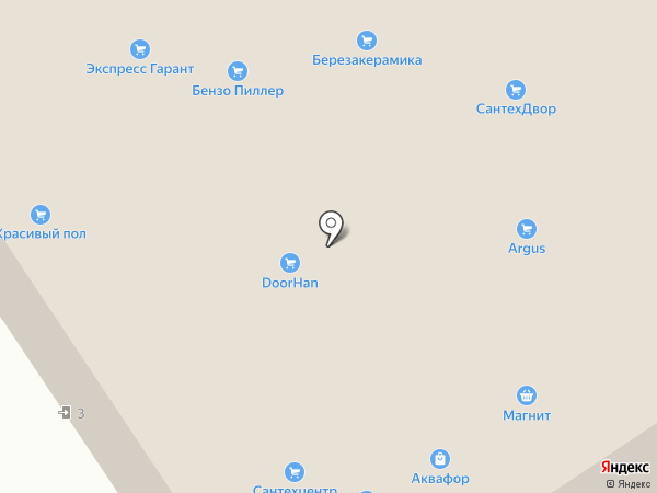 ВентТех на карте Перми