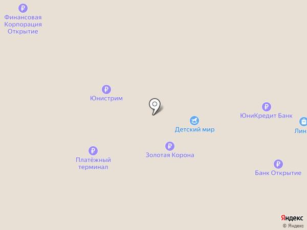 Буратино на карте Перми