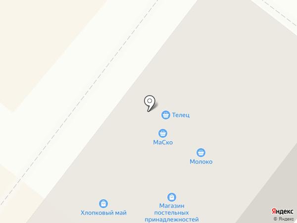 Магазин фастфудной продукции на карте Перми