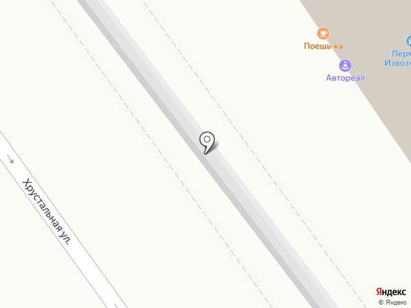 Велес на карте Перми
