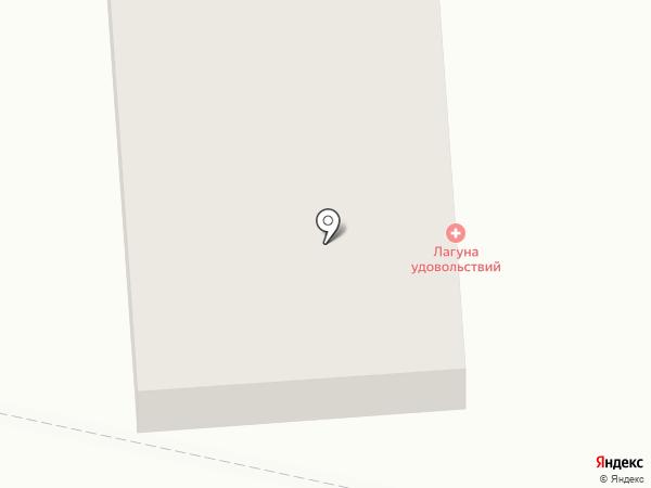 Лагуна удовольствий на карте Перми