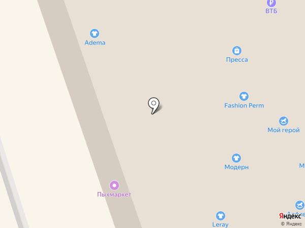 Маленький Мук на карте Перми