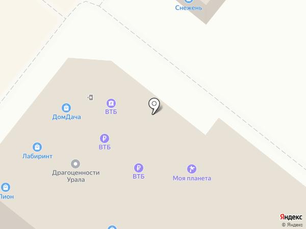 Платежный терминал, Банк ВТБ 24, ПАО, филиал в г. Перми на карте Перми