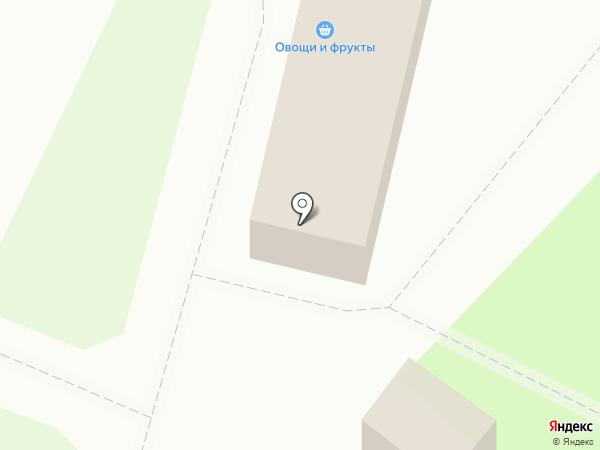 Магазин фруктов и овощей на карте Перми