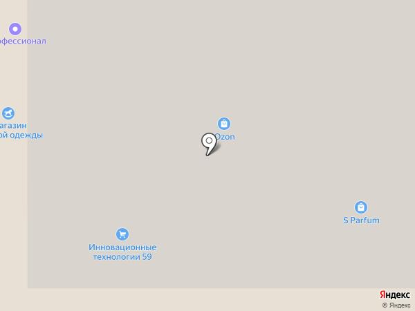 Трюфель на карте Перми