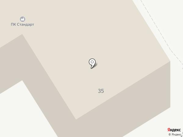 Мотовилихинский рабочий на карте Перми