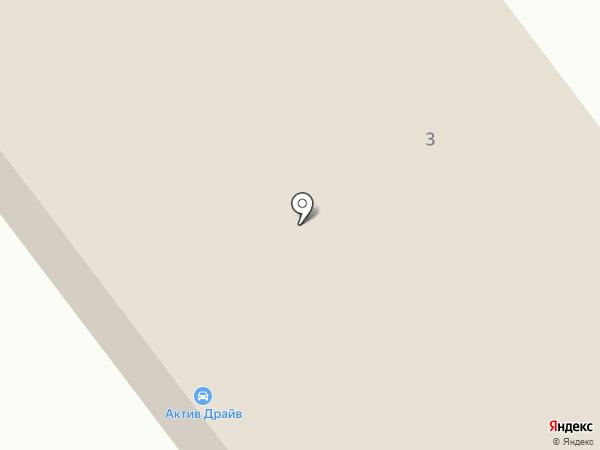 Актив Драйв на карте Перми