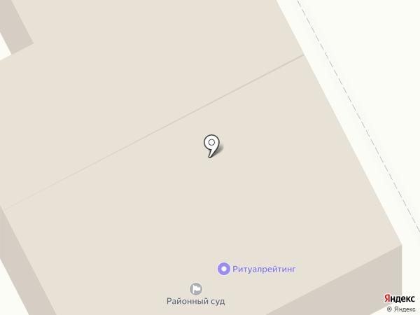 Регул на карте Перми