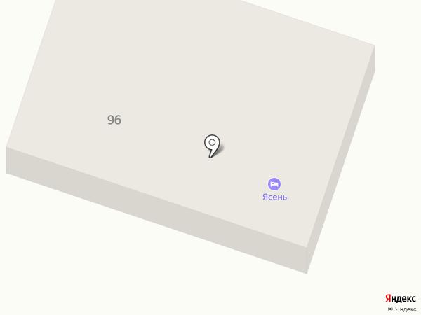 Дом Ясень на карте Перми