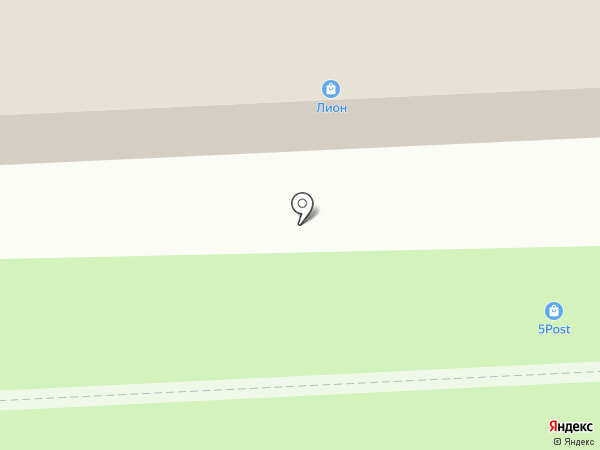 Лион на карте Звездного