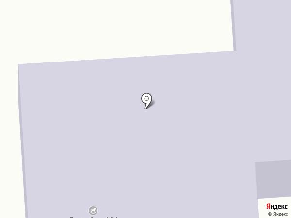 Детский сад №4 на карте Звездного