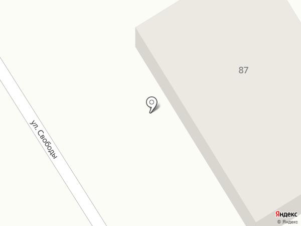 Емеля на карте Перми