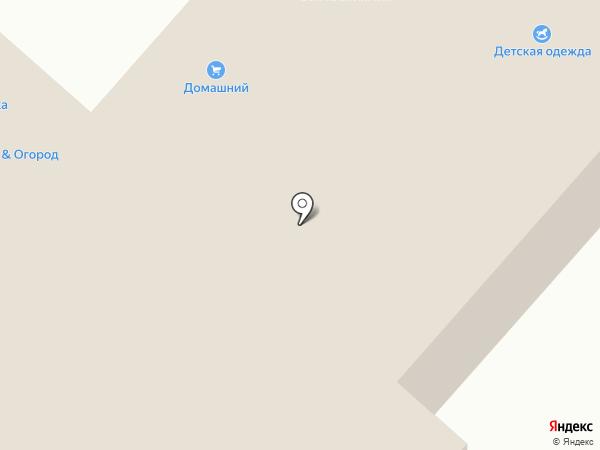 Домашний на карте Перми