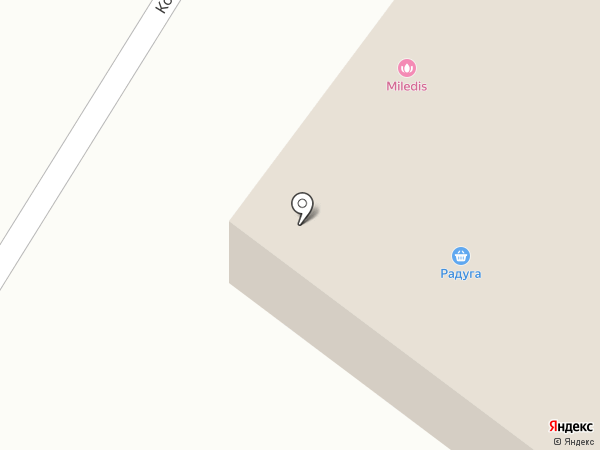 Радуга на карте Перми