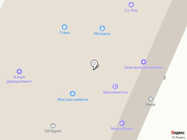 Контакт на карте Перми