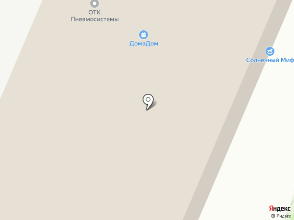 Компания Радон на карте Перми