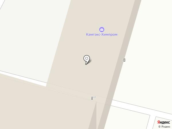 Пермские полиэфиры на карте Перми