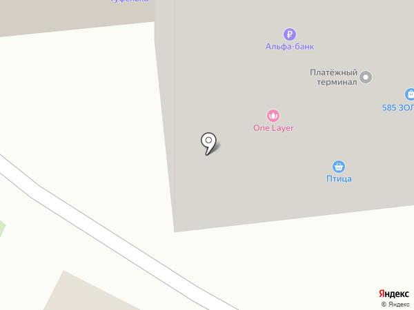 Комильфо на карте Перми