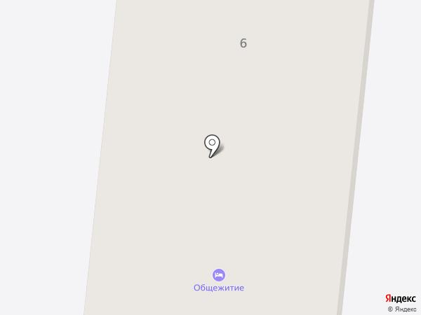 Общежитие на карте Бершетя