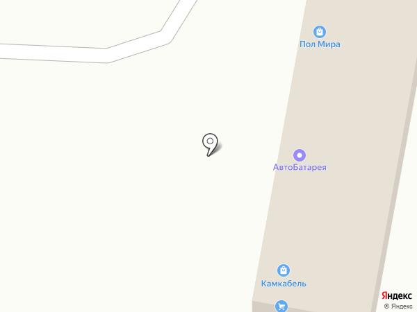 Грузовик на карте Перми