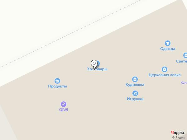 Кудряшка на карте Перми