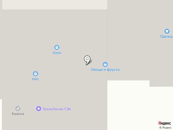 Магазин зоотоваров на карте Перми