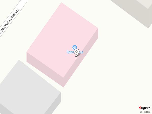 Здравница на карте Перми