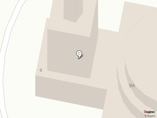 Церковь Николая Чудотворца на карте Усолья