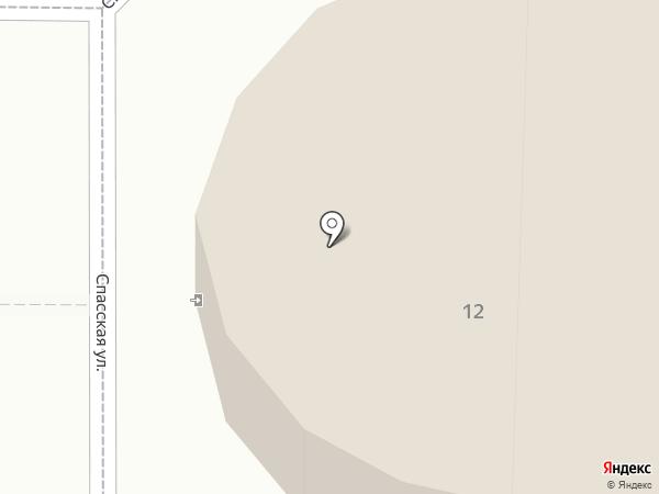 Усольский Спасо-Переображенский женский монастырь на карте Усолья