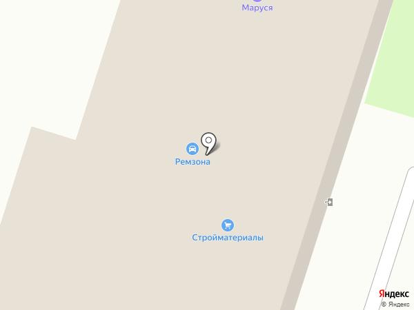 АВТОСНАБ на карте Березников