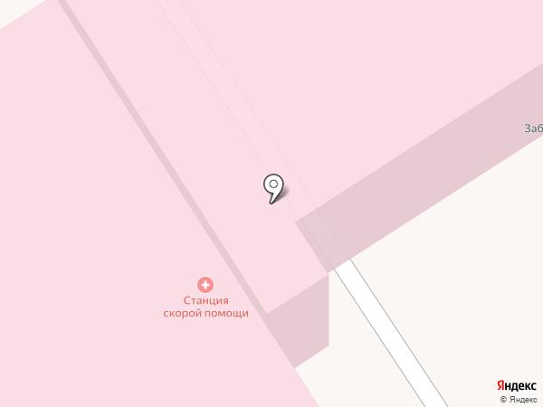 Станция скорой медицинской помощи г. Березники на карте Березников