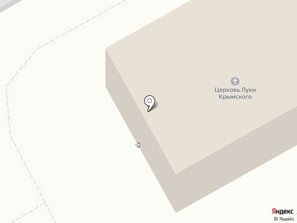 Храм святителя Луки Войно-Ясенецкого на карте Березников