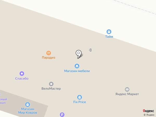 Тайм на карте Березников