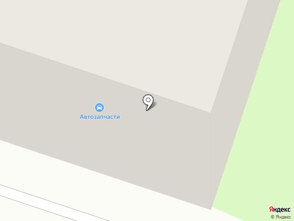 Магазин автозапчастей на карте Березников